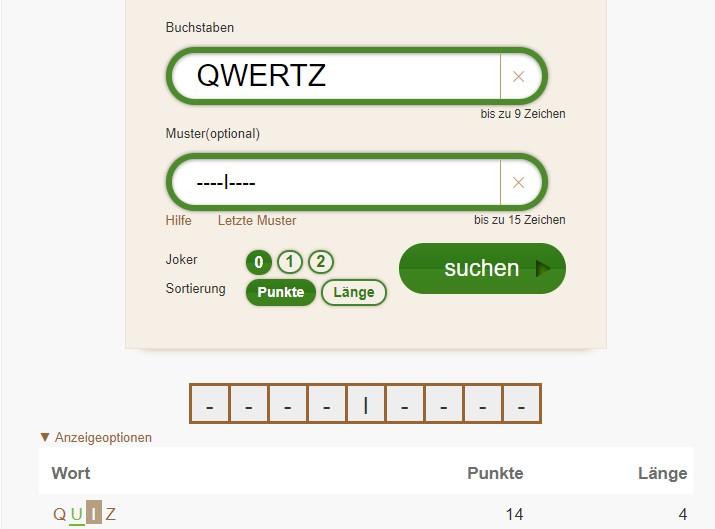 Scrabblehilfe