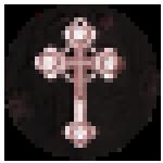 Vampire Slayer Pixel Logo